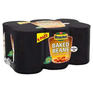 2 x 6 Pack of Branston Backed Beans 410g £4 @ Farmfoods