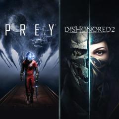 Prey + Dishonored 2 Bundle - PlayStation - £15.99