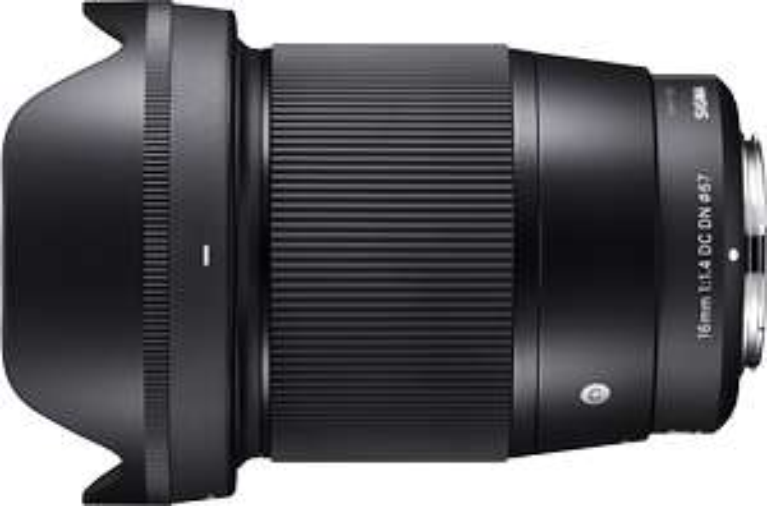 Sigma 16 mm F1.4 DC DN Contemporary Sony E Lens - Black Mirrorless  £359 @ Amazon