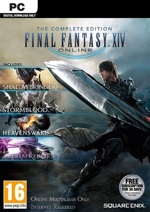 Final Fantasy XIV 14 Online Complete Edition Inc. Shadowbringers PC £22.99 @ CDKeys