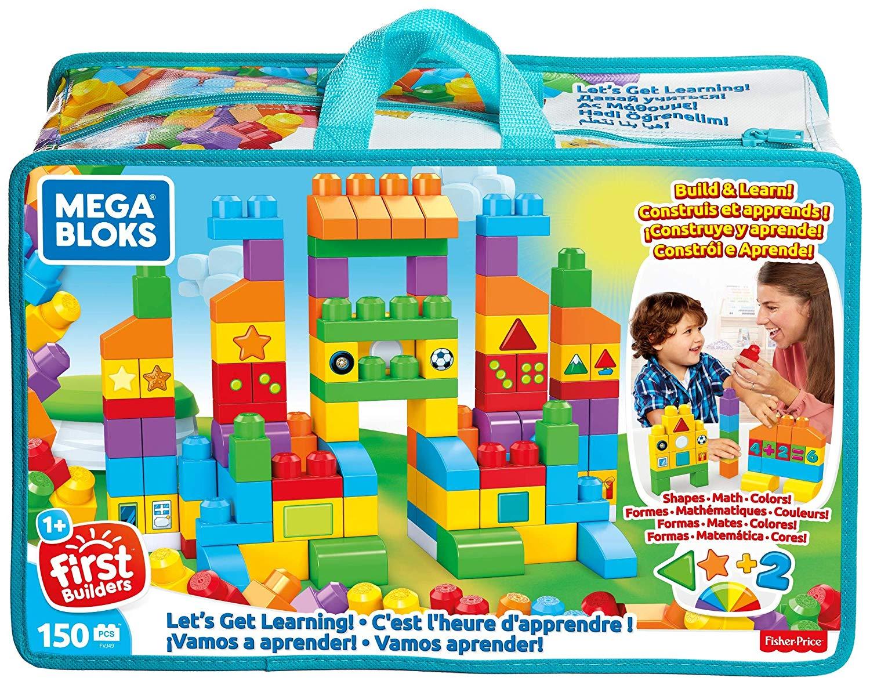 Mega Bloks FVJ49 Let's Get Learning Bricks, Multi-Colour - £19.99 at Amazon Prime / £24.48 Non Prime
