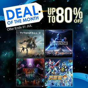 Deals of the Month at PlayStation PSN Indonesia  - Star Wars Battlefront 2 £4.05 / Alien Isolation £8.25 / Rez Infinite £10.98 + MORE