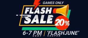 Flash Sale at Gamivo - 20% of all games using code FLASHJUNE from 5pm to 6pm 01/07/19 - GAMES ONLY