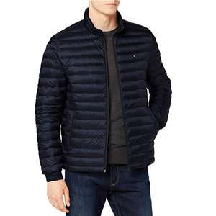 Tommy Hilfiger Men's Core Lw Packable Down Bomber Jacket  £89.99 @ Amazon