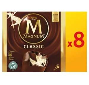 16 x Magnum Classic or Magnum White Ice creams 110ml  £5 @ Farmfoods