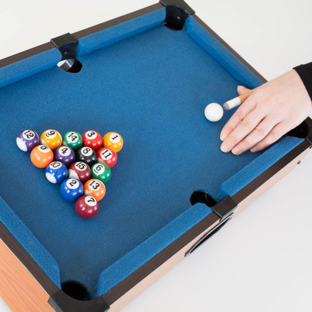 Mini Pool Table £19.99 instore & online @ Menkind