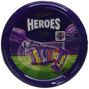 Cadbury Heroes Tin Premier League, 800 g - £2 + £4.49 delivery Non Prime @ Amazon
