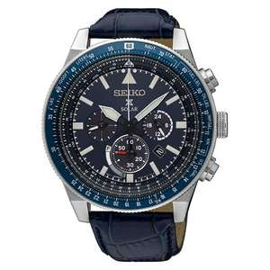 Seiko Mens Sky Prospex Solar Watch Blue SSC609P1 £225 at E.Jones (10% off possible with email subscribe)