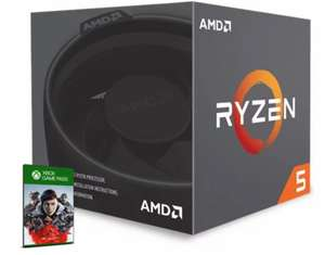 AMD Ryzen 5 2600 3.4GHz Hexa Core (Socket AM4) CPU+Wraith Stealth + 3-month Xbox Game Pass for PC for £119. 98 Delivered @ CCLOnline