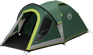 Coleman Tent Kobuk Valley 3/4 Plus tent BlackOut Bedroom Technology Family Dome Tent, 100% waterproof with sewn in groundsheet £75 Amazon