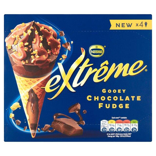 (From 3rd July) Extrême Gooey Chocolate Fudge 4 x 120ml  £1.50 @ Sainsbury's