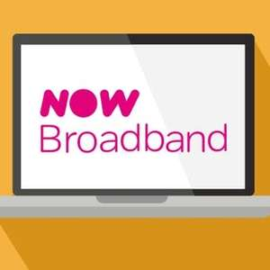 NOW Broadband - Fab Fibre up to 36mbps & FREE Anytime Calls £25 month + £90 Quidco Cashback