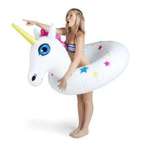 Large Unicorn Inflatable Pool Inflatable now £5 + £2.99 delivery @ PoundToy
