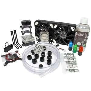 LIQUID.cool Vortex One Advanced DIY Water Cooling Kit - £95.47 Delivered at Scan