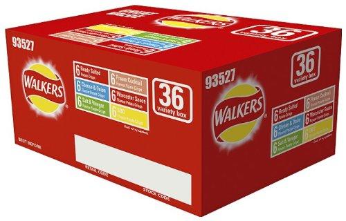36 x 25g Walkers Crisps box - £2 @ Asda Chester | Barrow | Hamilton & others?!