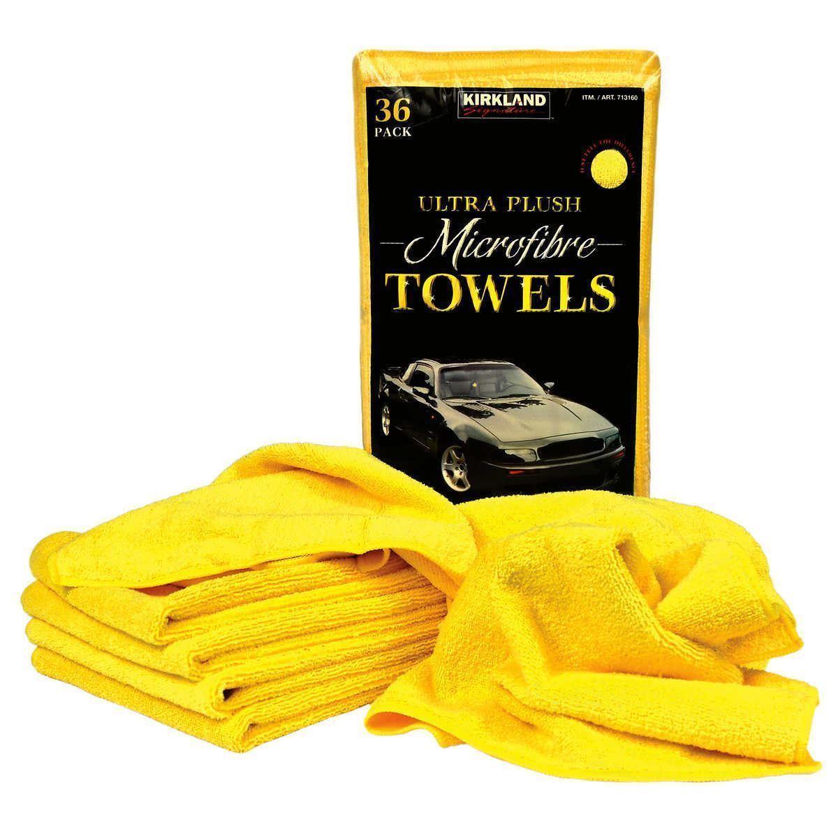 Kirkland Signature Ultra Plus Microfibre Towels (~41cm x 41cm) - 36 Pack for £13.18 @ Costco (from 08/07)
