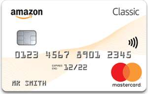 Amazon Classic Mastercard    Sign-up offer: £25 Amazon.co.uk Gift Card for new cardholders