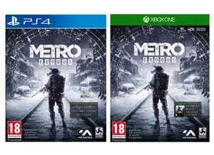 Metro Exodus + Bonus DLC, Patch and Poster (PS4 / Xbox One) for £24.85 delivered @ Simply Games