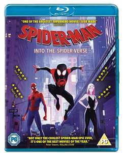 Pre-Order Spider-Man: Far From Home on Blu-ray and get Venom / Spiderverse for £6.99 at HMV