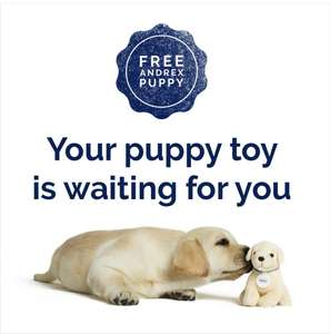 Free Andrex Puppy Toy on Facebook