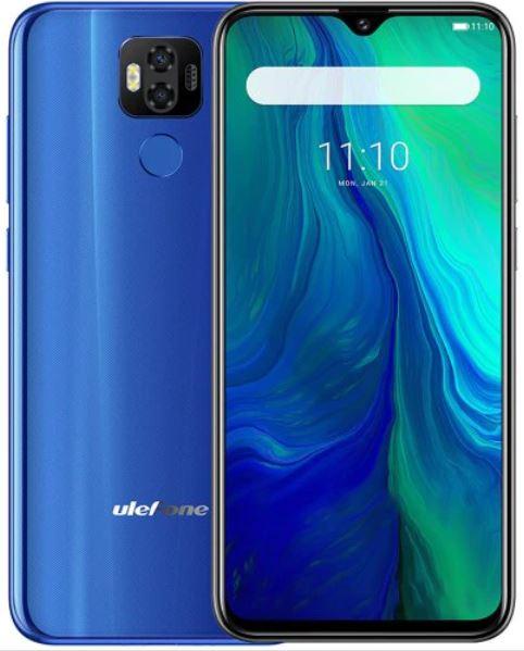 Ulefone Power 6 4G Phablet 6350mAh Battery - Blue EU Version - £116.07 - GearBest