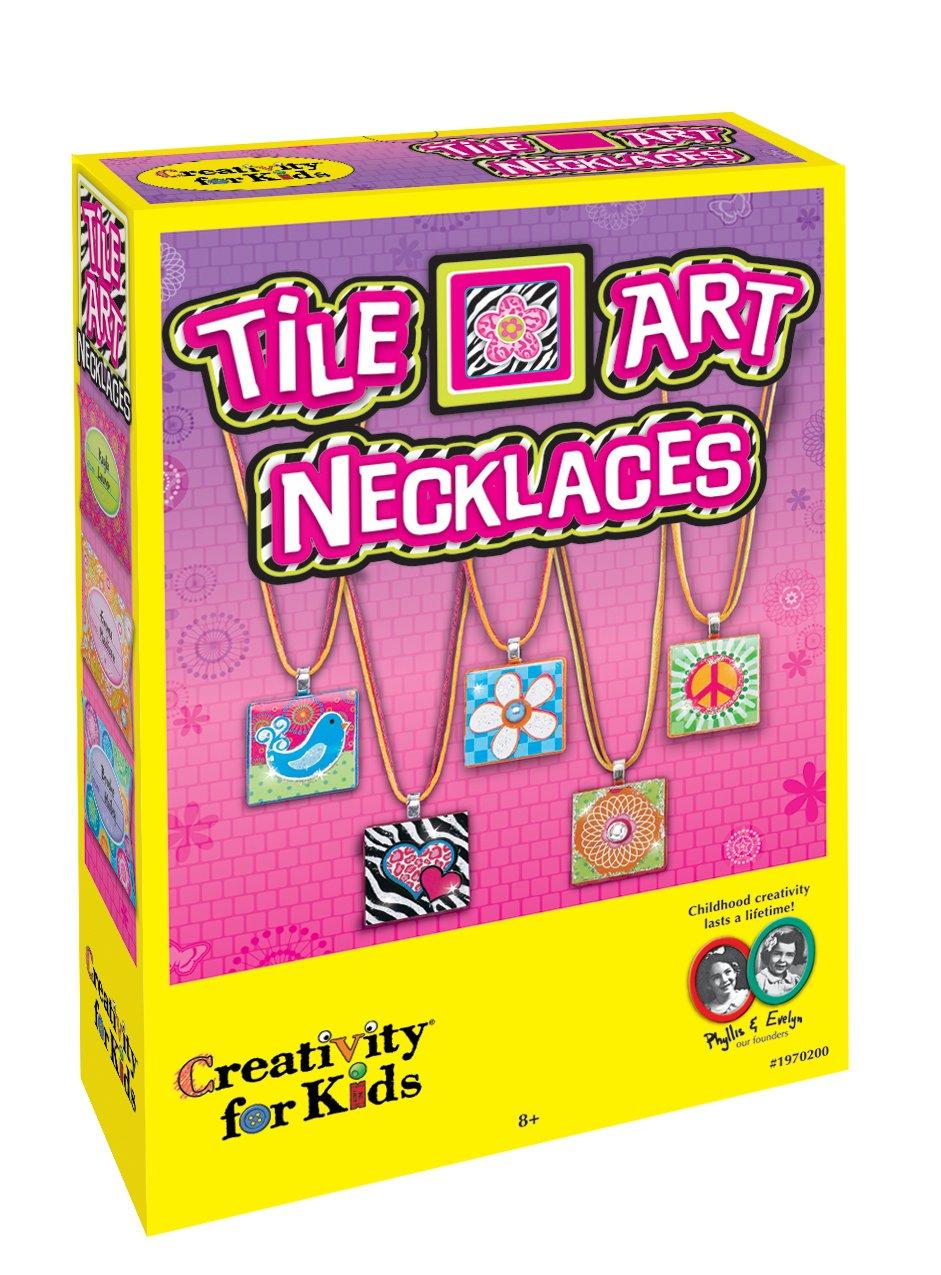 Creativity Tile Art Necklace £2.93 @ Amazon (Add on Item)