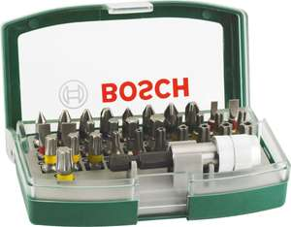 Bosch 2607017063 Screwdriver Bit Set, 32 Pieces £6 (Prime) £10.49 (Non-Prime) @ Amazon