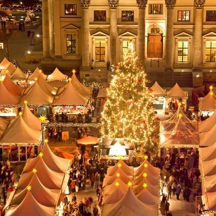 German Christmas markets 2 nights hotel + rtn flights 25/11 £71.10 pp (£142.20 total) with code poss 21% cashback @ Groupon Weekender Breaks