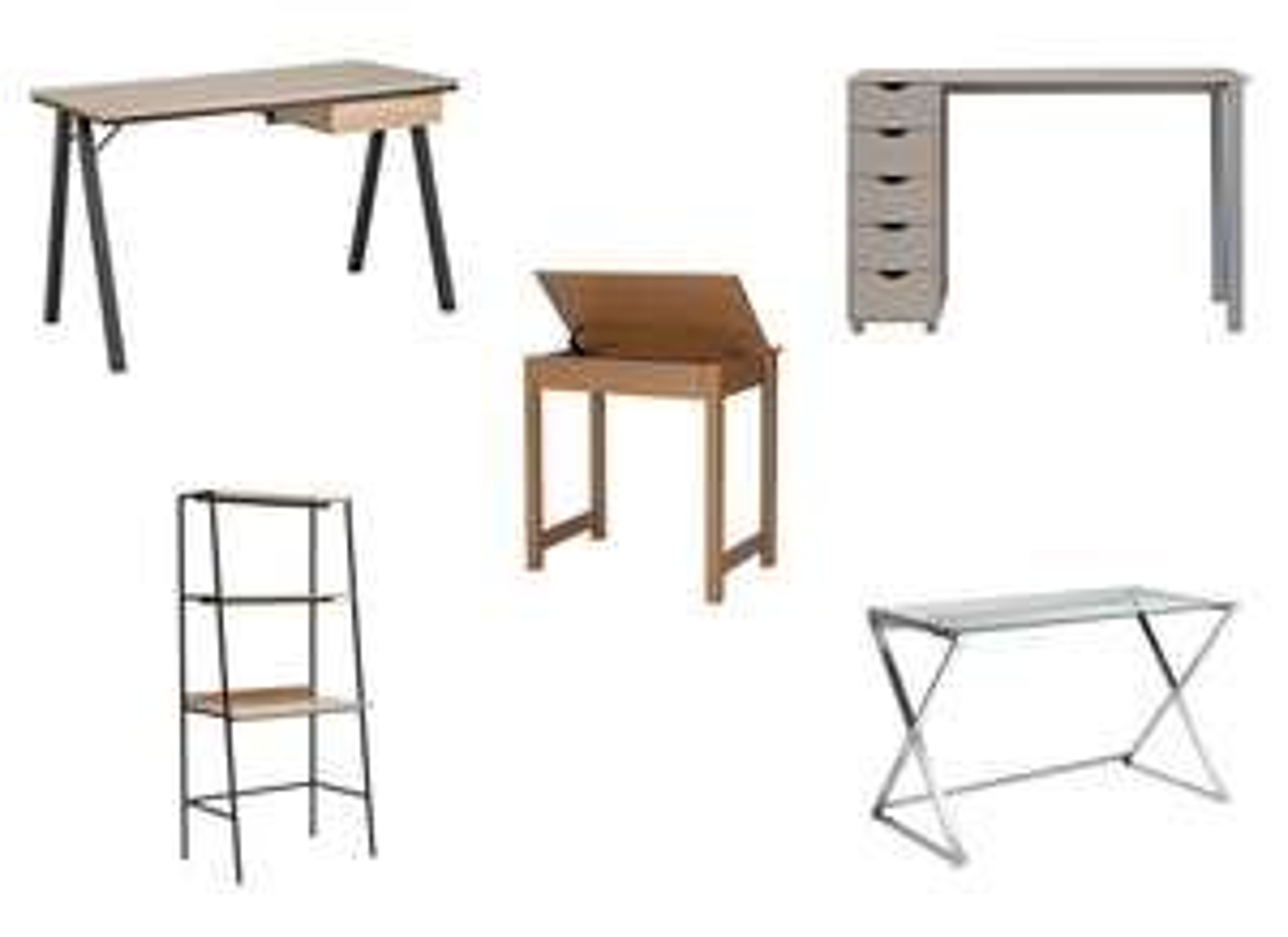 Office Desks on Half Price Sale - e.g. Denbigh Oak Effect - £17.49 @ Argos (+More offers)