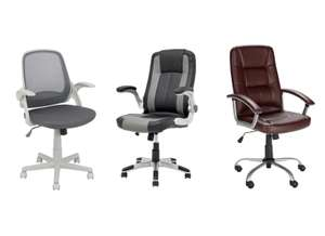 Half price Turing Office Chair / Dexter Office Chair / Walker Height Adjustable Office Chair - £39.99 @ Argos