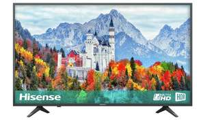 Hisense 43 Inch H43A6250UK Smart 4K UHD TV with HDR + Philips HTL1510B/05 140W 2.1Ch Wireless Sound Bar £308.50 Argos