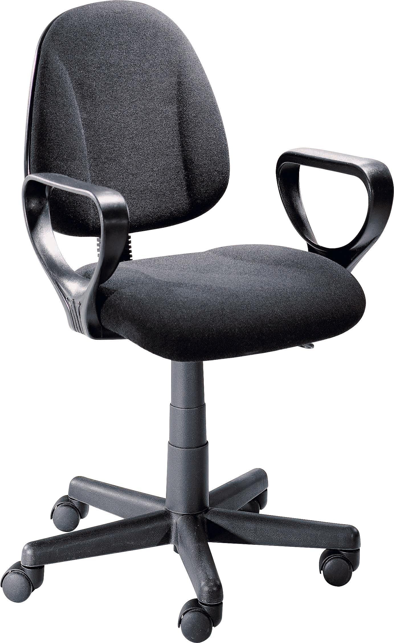 Argos Home Blake Gas Lift Adjustable Office Chair - Black, £32.49 at Argos (free c&c)