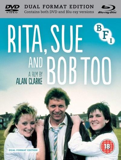 RITA, SUE AND BOB TOO. BFI Dual-Format Edition Blu-Ray & DVD £7.59 (Prime) / £10.58 (non Prime) at Amazon