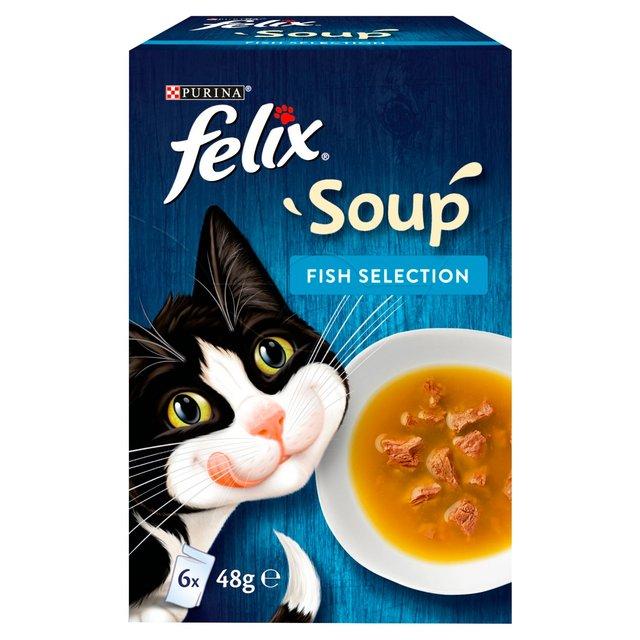 Felix Soup Fish Selection 6 x 48g / Felix Soup Farm Selection 6 x 48g £0.22 @ Morrisons