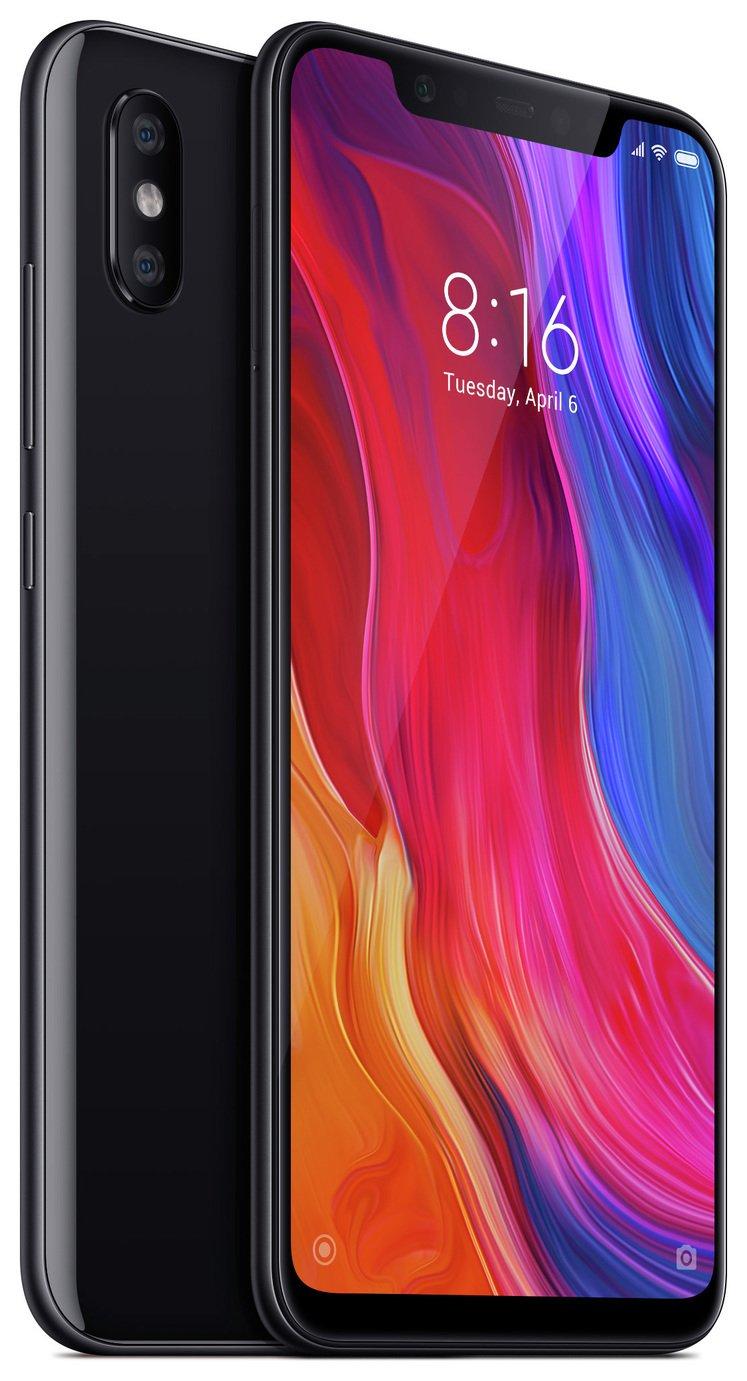 SIM Free Xiaomi Mi 8 Mobile Phone - Black 8  64gb £199.95 at Argos