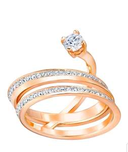 Swarovski Rose Gold plated Ring £19.50 Free C&C @Swarovski