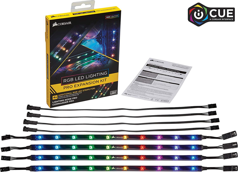 Corsair CL-8930002 RGB LED Lighting PRO Expansion Kit - Black £29.99 Amazon