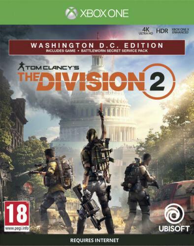Tom Clancy's The Division 2 - Washington D.C. Edition (Xbox One) Used good £19.99 ebay /  boomerangrentals