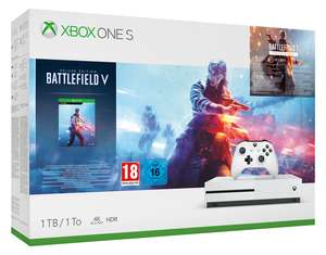 Xbox One S 1TB Battlefield V Deluxe Edition Console Bundle £174.85 Delivered @ Shopto