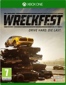 Pre order Wreckfest Xbox one only £34.99  at Amazon