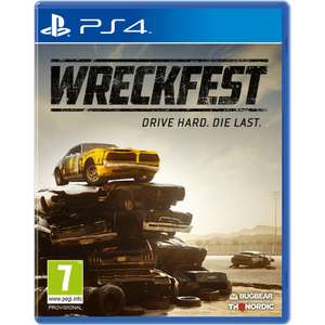 Pre order Wreckfest PS4 and Xbox One £34.99 Game