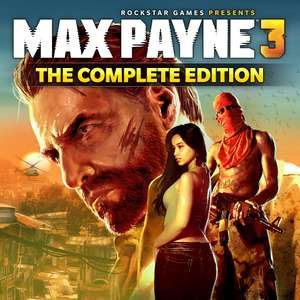 MAX PAYNE 3 Complete £8.09 @ Steam