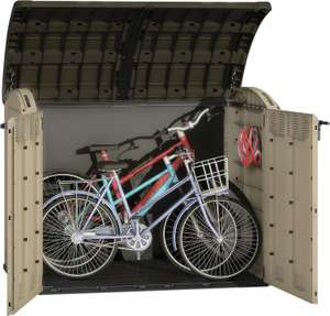 Keter Store It Out Ultra Large Garden & Bike Storage Beige & Brown - 6 X 4 Ft - £200 at Wickes