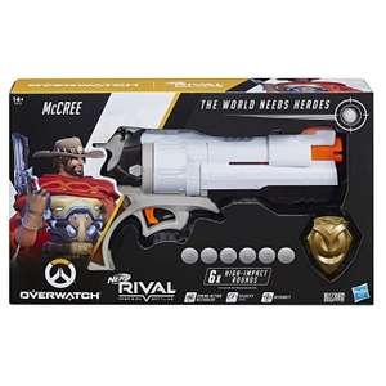 NERF Rival : Overwatch McCree Blaster - £19.49 at Amazon Prime / £23.98 Non Prime
