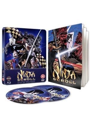 Ninja Scroll Steelbook Bluray + DVD - £6.99 at Base