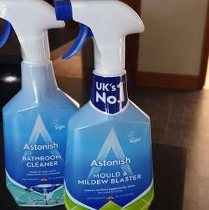 Astonish Bathroom cleaner / Mould &Mildew Blaster 0.75p each @ B&M Store, Sheffield.