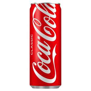 Coke Classic 250ml £0.25 instore at  Poundstretcher