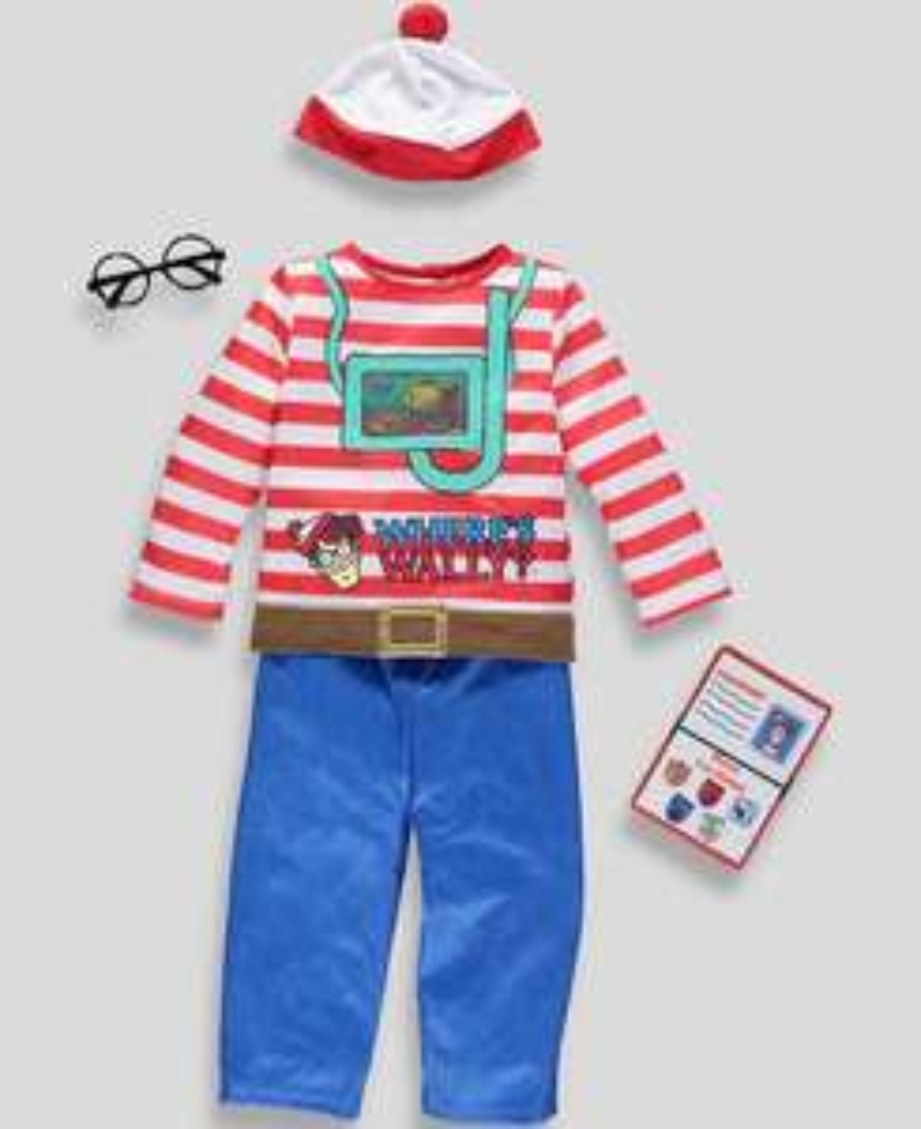 Kids Wheres Wally fancy dress and more! £5 only at Matalan