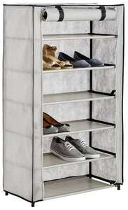 Half Price Argos Home Metal & Canvas Shoe Wardrobe - £14.99 + Free C&C @ Argos