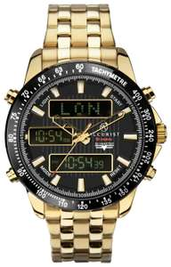 Accurist Men's Gold Stainless Steel Chronograph Watch @ Argos Free C&C £59.99